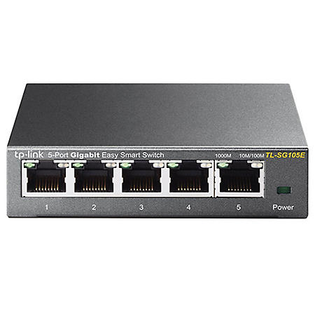 TP-Link 5 or 8 Port Gigabit Easy Smart Switch