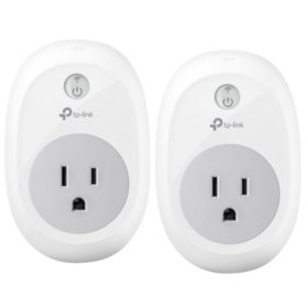TP-LINK Kasa Smart Wi-Fi Plug (2 or 3 Pack)