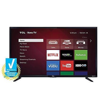 """TCL 48"""" Class 1080p LED Roku Smart HDTV - 48FS3750"""