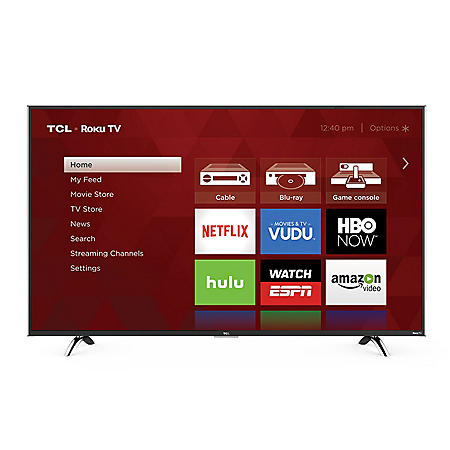 "TCL 55"" Class 4K UHD Roku Smart LED TV - 55UP120"