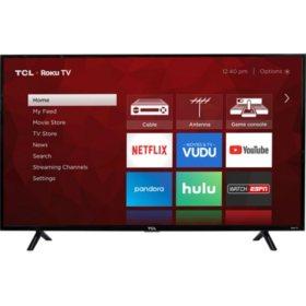 "TCL 49"" Class 4K UHD Roku Smart TV - 49S403"