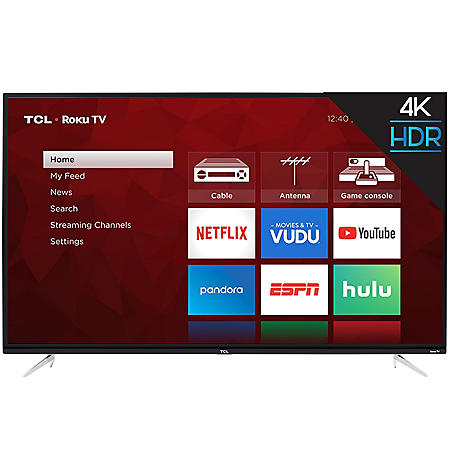 "TCL 50"" Class 4K Ultra HD Roku Smart TV - 50S423"