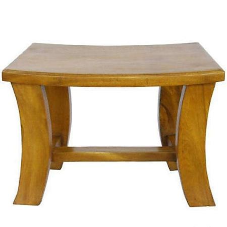 Contemporary Acacia Coffee Table - Pine Finish