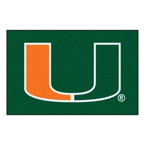 NCAA - University of Miami Starter Mat