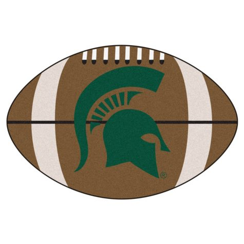 NCAA - Michigan State University Football Mat