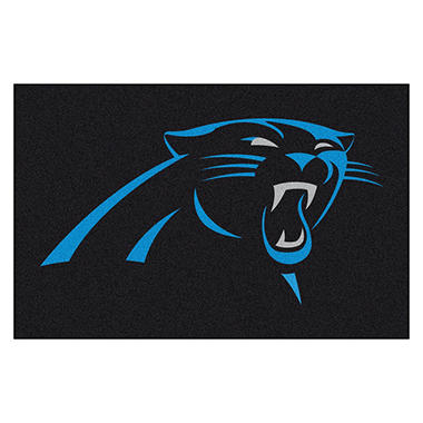 NFL Carolina Panthers Doormat