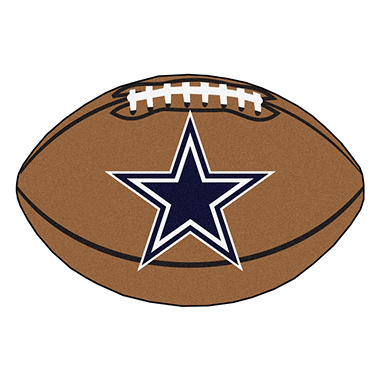 Nfl Dallas Cowboys Football Mat Sam S Club