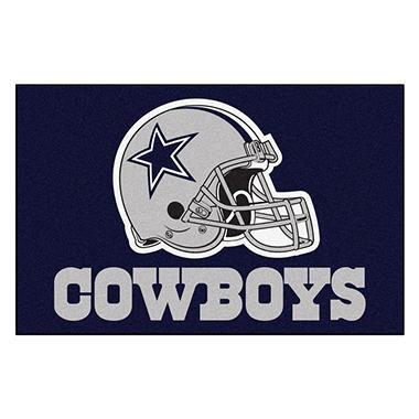 Nfl Dallas Cowboys Starter Mat Sam S Club