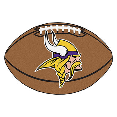 Nfl Minnesota Vikings Football Mat Sam S Club