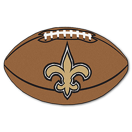 NFL - New Orleans Saints Football Mat