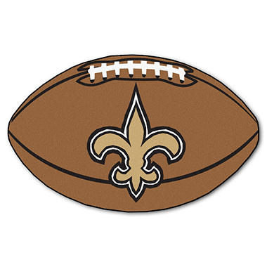 Nfl New Orleans Saints Football Mat Sam S Club