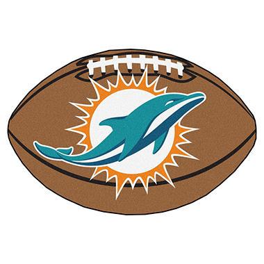 Nfl Miami Dolphins Football Mat Sam S Club
