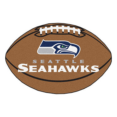 Nfl Seattle Seahawks Football Mat Sam S Club