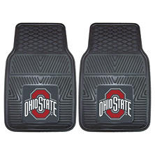 NCAA - Ohio State University 2-pc Vinyl Car Mat Set