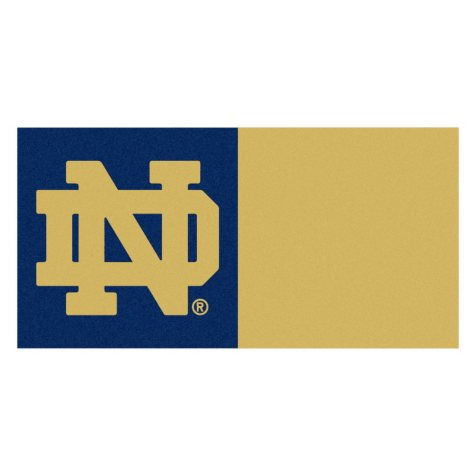 NCAA - Notre Dame Team Carpet Tiles