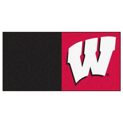 NCAA - University of Wisconsin Team Carpet Tiles