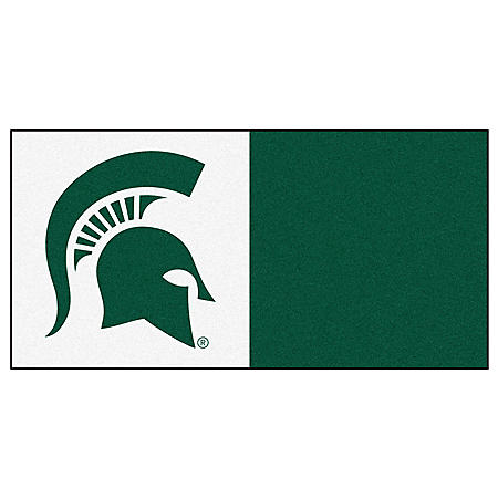 NCAA - Michigan State University Team Carpet Tiles