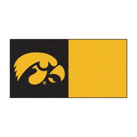 NCAA - University of Iowa Team Carpet Tiles