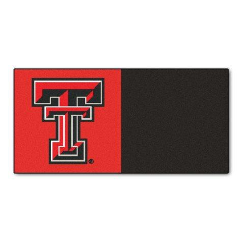 NCAA - Texas Tech University Team Carpet Tiles