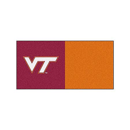 NCAA - Virginia Tech Team Carpet Tiles