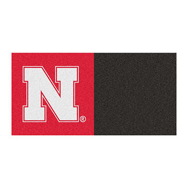 NCAA - University of Nebraska Team Carpet Tiles