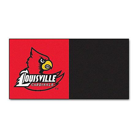 NCAA - University of Louisville Team Carpet Tiles