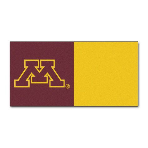 NCAA - University of Minnesota Team Carpet Tiles
