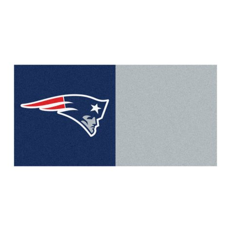 NFL - New England Patriots Team Carpet Tiles