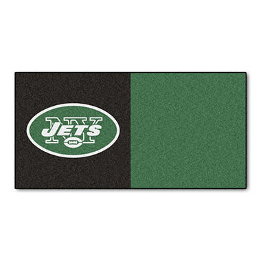NFL - New York Jets Team Carpet Tiles