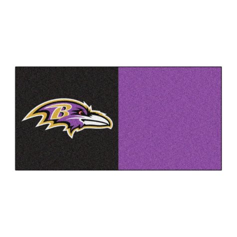 NFL - Baltimore Ravens Team Carpet Tiles