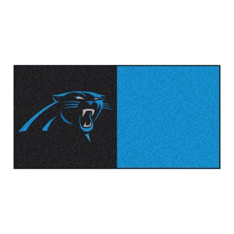 NFL - Carolina Panthers Team Carpet Tiles
