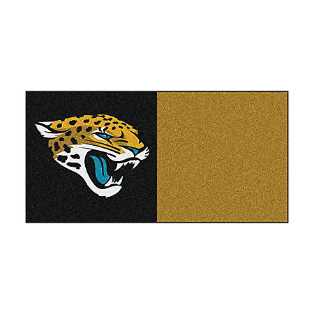 NFL - Jacksonville Jaguars Team Carpet Tiles