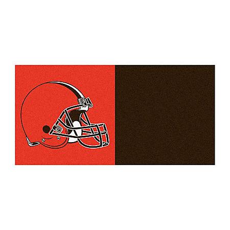 NFL - Cleveland Browns Team Carpet Tiles