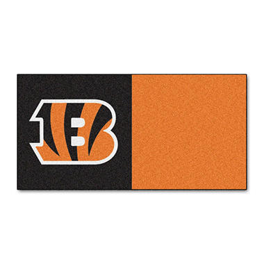 NFL - Cincinnati Bengals Team Carpet Tiles
