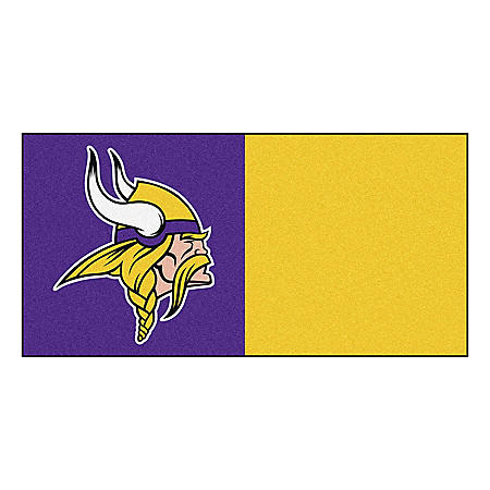 NFL - Minnesota Vikings Team Carpet Tiles