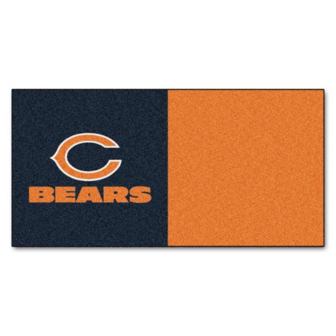 NFL - Chicago Bears Team Carpet Tiles