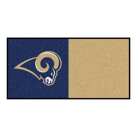 NFL - Los Angeles Rams Team Carpet Tiles
