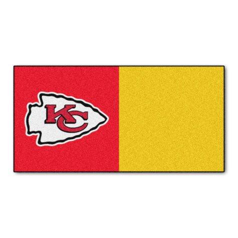 NFL - Kansas City Chiefs Team Carpet Tiles