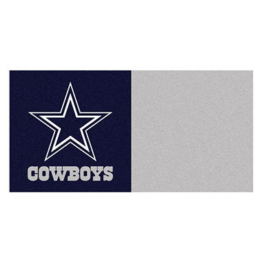 NFL - Dallas Cowboys Team Carpet Tiles
