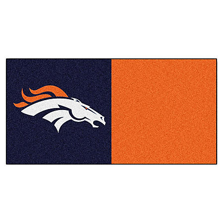 NFL - Denver Broncos Team Carpet Tiles