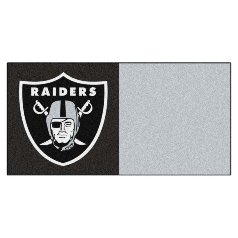 NFL - Oakland Raiders Team Carpet Tiles