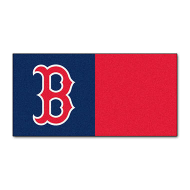 MLB - Boston Red Sox Team Carpet Tiles