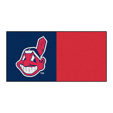 MLB - Cleveland Indians Team Carpet Tiles
