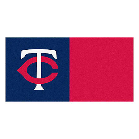 MLB - Minnesota Twins Team Carpet Tiles