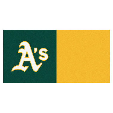 MLB - Oakland Athletics Team Carpet Tiles