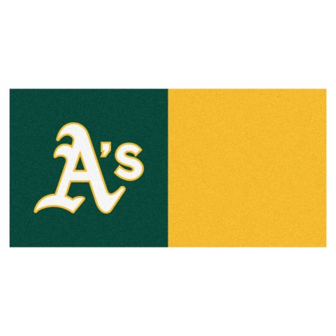 MLB - Oakland Athletics Team Carpet Tiles