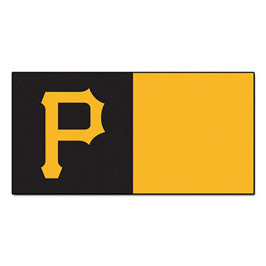MLB - Pittsburgh Pirates Team Carpet Tiles