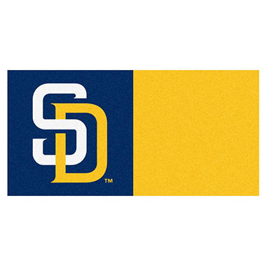 MLB - San Diego Padres Team Carpet Tiles