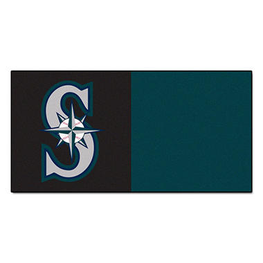 MLB - Seattle Mariners Team Carpet Tiles
