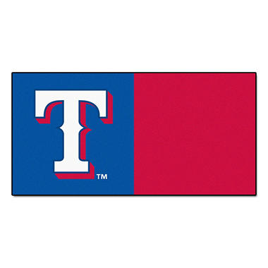 MLB - Texas Rangers Team Carpet Tiles